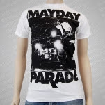 Mayday Parade Upstage White T-Shirt