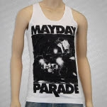Mayday Parade Upstage White Tank Top