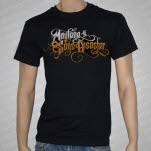 Maylene and the Sons of Disaster Logo Black T-Shirt
