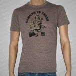 MC Yogi Ganesh Is Fresh Brown T-Shirt
