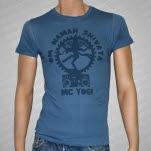 MC Yogi OM Namah Earth Ocean Shiva Boombox T-Shirt