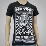 MC Yogi Revolution Tri Black T-Shirt