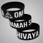 MC Yogi Shiva Black Wristband