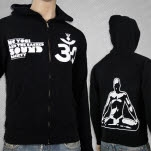 MC Yogi Sacred Sound Black Hoodie Zip