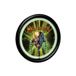 Megadeth Neon Clock