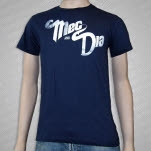 Meg and Dia Logo Navy T-Shirt