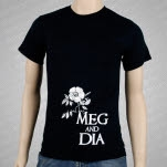 Meg and Dia Rose T-Shirt