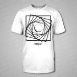 Megosh Spiral White T-Shirt