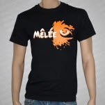 Melee Everyday Behavior Logo Black T-Shirt