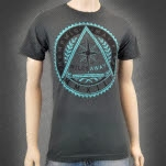 Memphis May Fire Miles Away Charcoal Gray T-Shirt