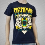 Memphis May Fire Bear Navy T-Shirt