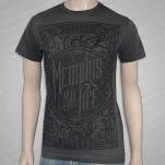 Memphis May Fire Canvas Gray T-Shirt