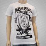Memphis May Fire Challenger White T-Shirt