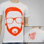 Memphis May Fire Cartoon Matty White T-Shirt
