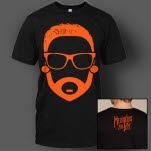 Memphis May Fire Cartoon Matty Black T-Shirt