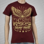 Memphis May Fire Eagle Clubs Maroon T-Shirt