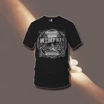 Memphis May Fire Hourglass Black T-Shirt