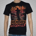 Memphis May Fire Movie Poster Black T-Shirt