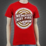 Memphis May Fire Prove Me Right Red T-Shirt