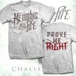 Memphis May Fire Prove Me Right White T-Shirt