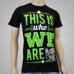 Memphis May Fire Who We Are Black T-Shirt