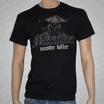 Merauder Master Killer Samurai Black T-Shirt