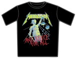 official Metallica And Justice For All T-Shirt