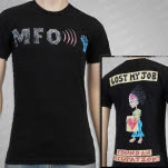 MFO   Music For Occupy Lost Black T-Shirt