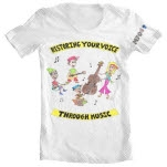 MFO   Music For Occupy Restoring Your Voice White T-Shirt