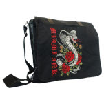 Miami Ink Black Snake Messenger Bag Messenger Bag