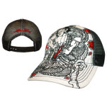 Miami Ink Adj Trucker Sumo Dragon Fight Cap