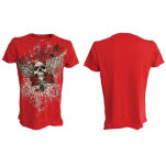 Miami Ink Red T Shirt Angel T-Shirt