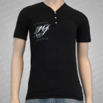 Michael Jagmin Logo Black T-Shirt