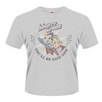 Mighty Mouse Safe Now T-Shirt