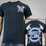 Miracle At St Anna Axes Dark Heather T-Shirt