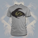 Misery Signals Big Eye Heather Grey T-Shirt