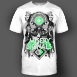 Misery Signals Goddess White T-Shirt