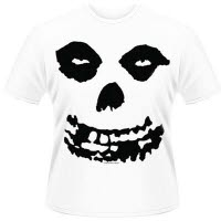 Misfits All Over Skull T-Shirt