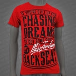 official Miss Fortune Chasing Dreams Red T-Shirt