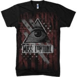 Miss Fortune Dictator Black T-Shirt