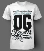 Miss Fortune OG Forum Member White T-Shirt