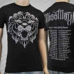 Miss May I Stone Lion 2013 Tour Black T-Shirt