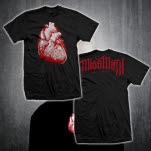 Miss May I Heart Black T-Shirt