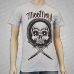 Miss May I Knives Out Silver T-Shirt