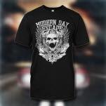 Modern Day Escape Skull Black T-Shirt