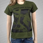 Modern Life Is War Army Army Green T-Shirt
