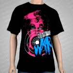 Modern Life Is War Girl Black T-Shirt