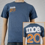 moe 20 Recycled Blue T-Shirt
