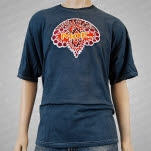 moe Batik Gray T-Shirt