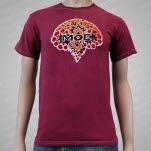 moe Batik Logo Maroon T-Shirt